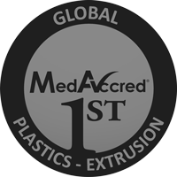 First Global MedAccred Accreditation for Plastics Extrusion